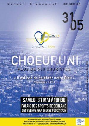 ChoeurUni 2014 à Lyon