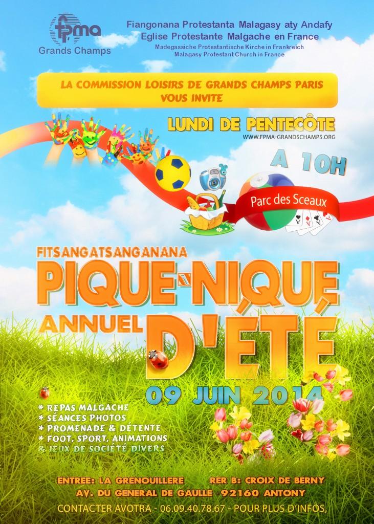 Pique-Nique Annuel GrandsChamps 2014