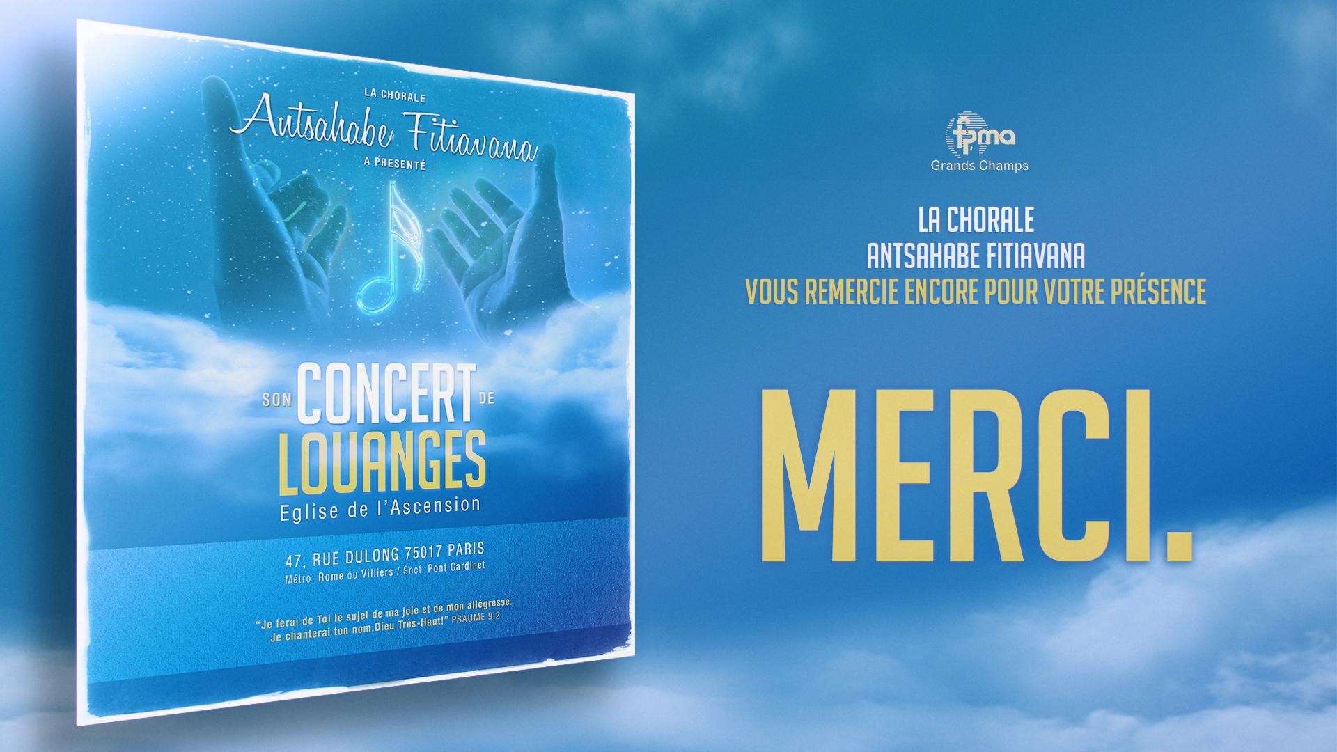 AMF Remerciements Concert 2014