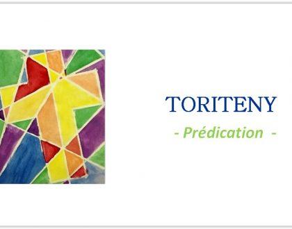 Toriteny - Prédications